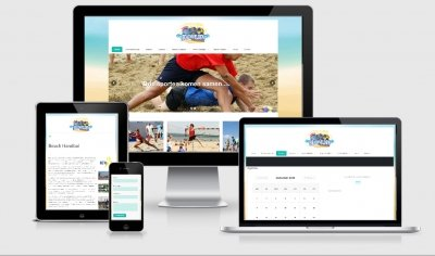 Website Beachvelden Winterswijk