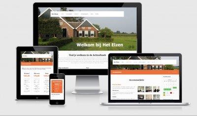 Website ontwerp van Het Elzen in Winterswijk-Woold